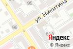 Схема проезда до компании Эстэти в Барнауле