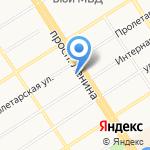 Дом обуви Центральный на карте Барнаула