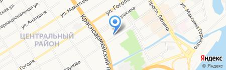 Левша на карте Барнаула