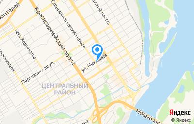 Местоположение на карте пункта техосмотра по адресу г Барнаул, пр-кт Социалистический, д 28