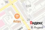 Схема проезда до компании Барс в Барнауле