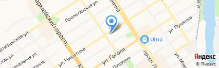 Риэлт-Мастер на карте Барнаула