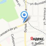 Адвокатская контора №2 Октябрьского района на карте Барнаула
