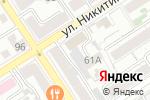 Схема проезда до компании Электромонтажные технологии в Барнауле