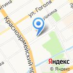 АлтайГипрозем на карте Барнаула