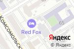 Схема проезда до компании Спецпошив в Барнауле