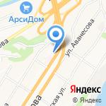 Нагорная на карте Барнаула