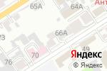 Схема проезда до компании Почтовое отделение №43 в Барнауле