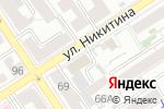 Схема проезда до компании Двери из Европы в Барнауле