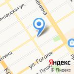 Алтайстройпроект на карте Барнаула