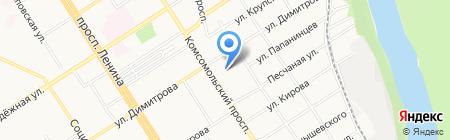 Спецпошив на карте Барнаула