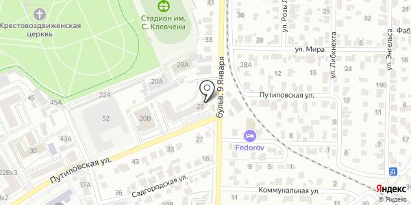 Стройком. Схема проезда в Барнауле
