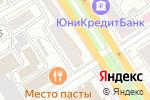 Схема проезда до компании Эльм в Барнауле