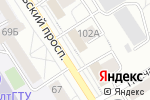 Схема проезда до компании НОВЭКС в Барнауле