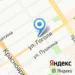 Завод упаковки на карте Барнаула