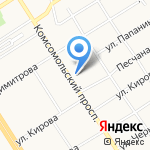 FUN на карте Барнаула