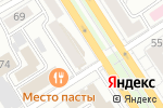 Схема проезда до компании Джинс Тайм в Барнауле