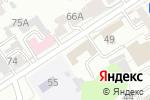 Схема проезда до компании Алтайский центр ездового спорта в Барнауле