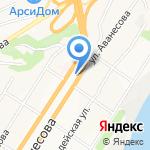 Вандам на карте Барнаула