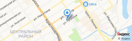 Абсолют-Групп на карте Барнаула