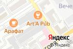 Схема проезда до компании ИстЛайн в Барнауле