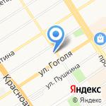 Деловой квартал на карте Барнаула