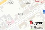 Схема проезда до компании Сюзанна в Барнауле