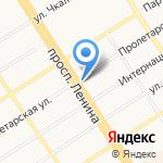 Ателье по ремонту и пошиву изделий из кожи и меха на карте Барнаула