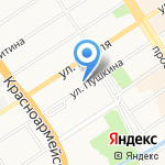 Избирательная комиссия г. Барнаула на карте Барнаула