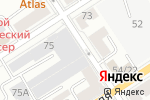 Схема проезда до компании Колибри в Барнауле