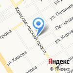 Синь Тяо на карте Барнаула