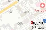 Схема проезда до компании Консалтинговая компания в Барнауле