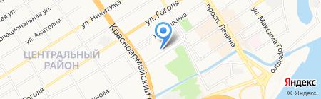 Алтайский государственный краеведческий музей на карте Барнаула
