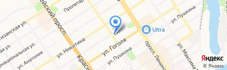 Алтайский дом литераторов на карте Барнаула