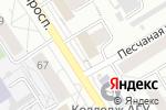 Схема проезда до компании Торговая сеть по продаже кур-гриль в Барнауле