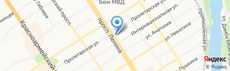 Лидер Спорт на карте Барнаула