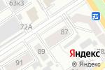 Схема проезда до компании Ваш Дом в Барнауле