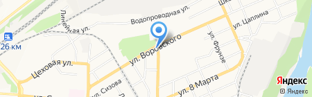 ПанТерм на карте Барнаула