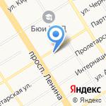 Военная прокуратура Барнаульского гарнизона на карте Барнаула