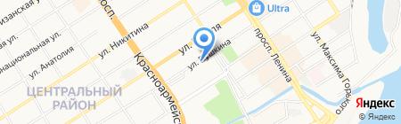 Киоск по продаже цифровых носителей на карте Барнаула
