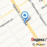 Алтайский краевой суд на карте Барнаула