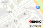 Схема проезда до компании Денталь в Барнауле