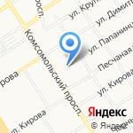 Гараж на карте Барнаула
