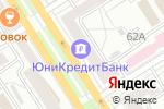 Схема проезда до компании Платежный терминал, Юникредит банк в Барнауле