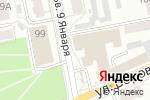 Схема проезда до компании Олис в Барнауле