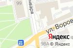 Схема проезда до компании Киоск по продаже мясных продуктов в Барнауле