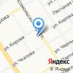 Всероссийское добровольное пожарное общество на карте Барнаула
