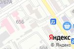 Схема проезда до компании Всероссийское добровольное пожарное общество в Барнауле