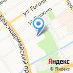 Мир камня на карте Барнаула