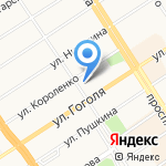 Барнаул Газ-Сервис на карте Барнаула